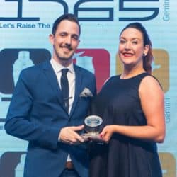 Raven Rudolph flies to finish line as Bar Manager of the Year 2018 (via Caterer Middle East)